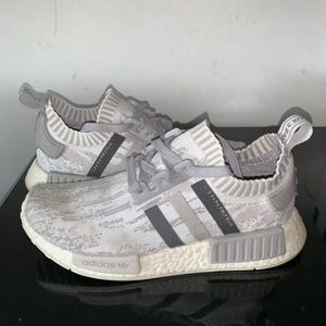 Adidas NMD R1 Glitch Camo Grey